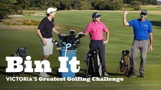 "Andy Lee's ""Bin It"" Golf Challenge"