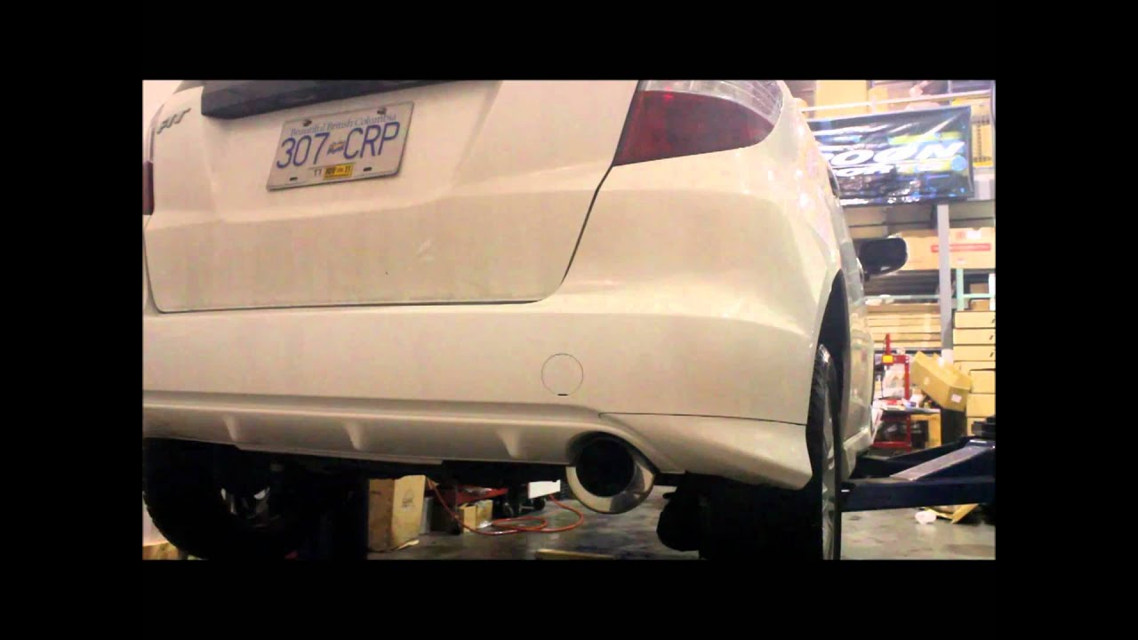 T1r s51 exhaust for honda fit ge8 idle rev