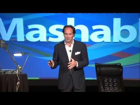 David Jones of Havas and Euro RSCG at Mashable Connect 2011.