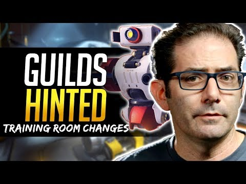 Overwatch JEFF KAPLAN HINTS GUILDS, New Training Room & More! thumbnail