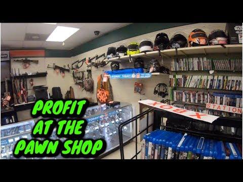 Make Money Sourcing Pawn Shops On Ebay & Amazon