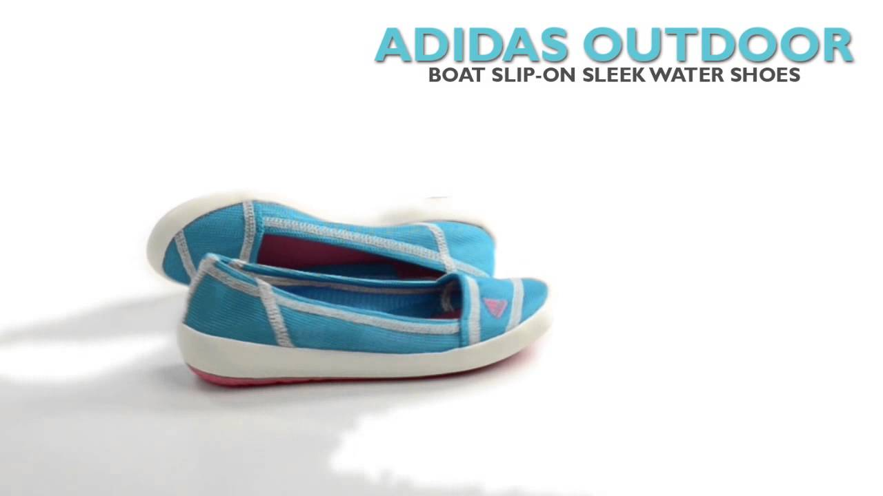 Adidas Outdoor Boat Slip On Sleek Water Shoes (For Women)