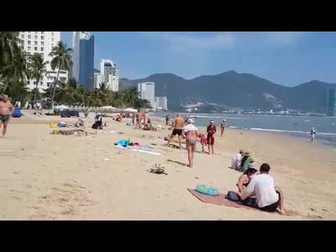 Вьетнам  Нячанг 2019. Северный пляж. Обзор и отзыв. Цены.