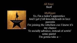 Hamilton   My Shot lyrics