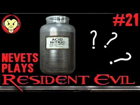 Nevets Plays Resident Evil - Part 21 | How to make V-JOLT (DIY) [BLIND]