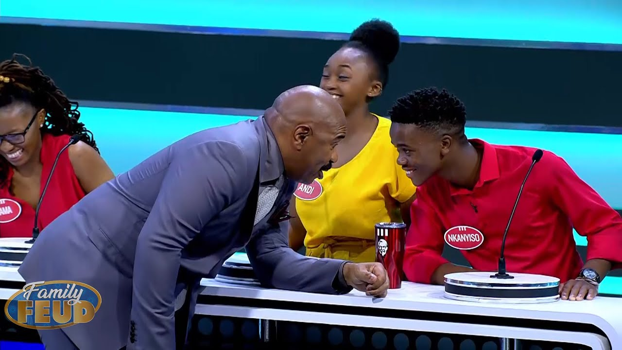 Sharing a bed IS HARD, do it FOR THE DOUBLE POINTS!! | Family Feud South Africa