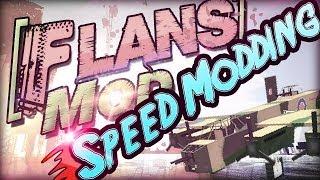 ★ SPEED MODDING ★ Minecraft 1.8 Flans Mod Installation in 125 Sekunden! German Deutsch