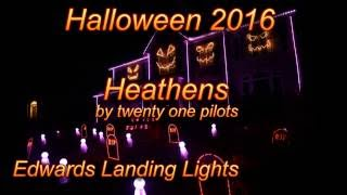 Halloween Light Show 2016 - Heathens by Twenty One Pilots