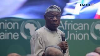 Obasanjo yanenze abakuru b'ibihugu batazitabira inama idasanzwe ya AU i Kigali