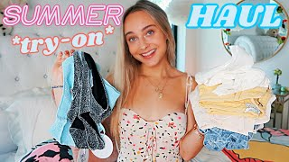 HUGE Summer Clothing Haul! *Online Shopping*