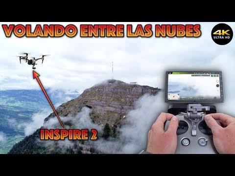 """La Montaña Entre Las Nubes """"Inspire2"""" 4K/DronePilot"""