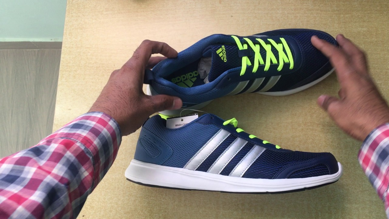 Adidas Running Shoes Unboxing \u0026 Hands