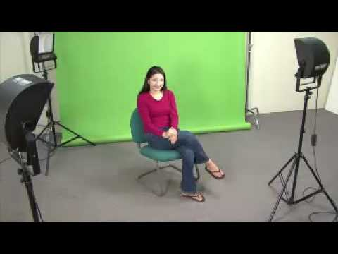 Video Lighting Basics - Three Point Lighting