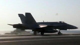Estados Unidos y sus aliados comienzan sus ataques contra el Estado Islámico en Siria