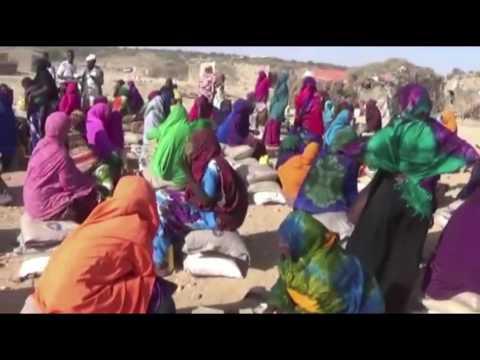 Food Distribution in Beerwayso Village