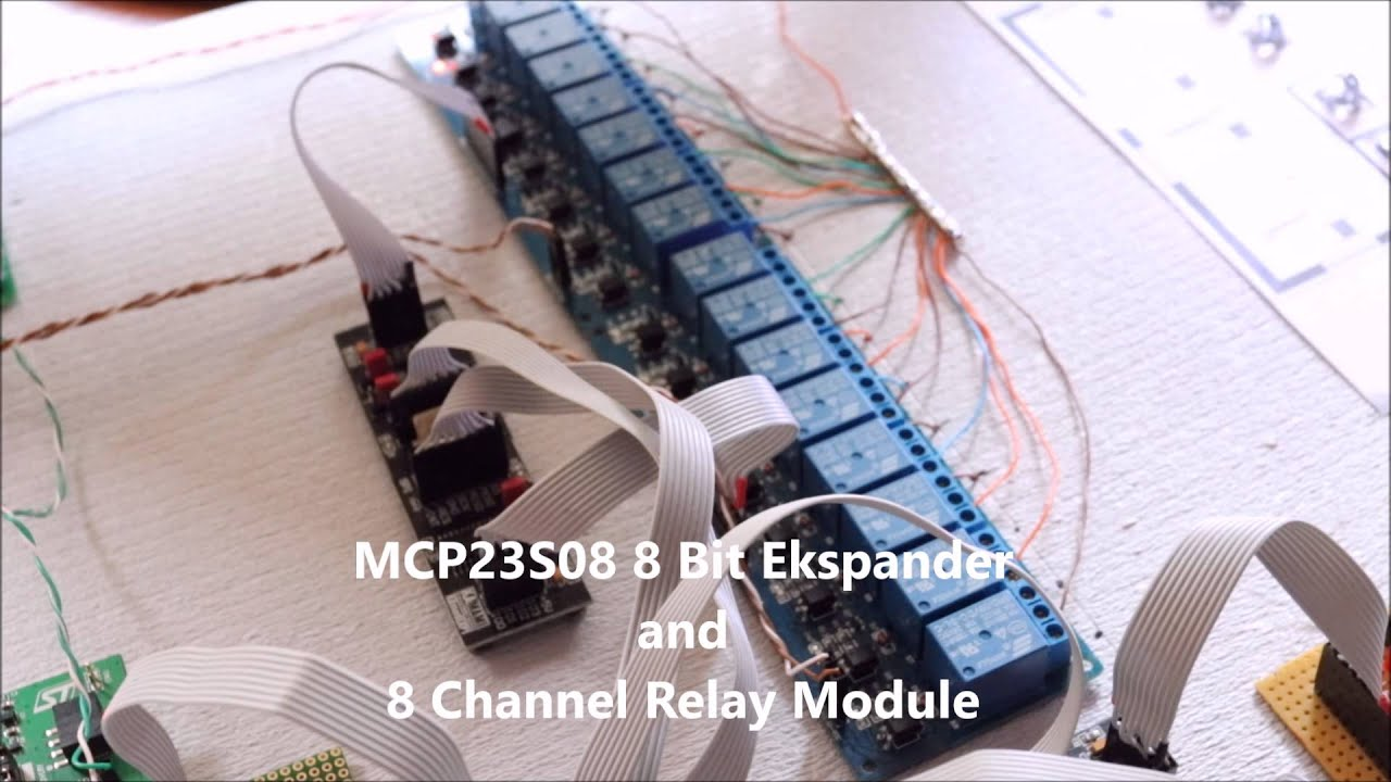 Wireless BMS via STM32F4 (Wi-Fi Murata SN8200, MCP23S08, DS18b20) by Łukasz  Majchrzak