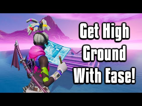 Six Simple & Protected High Ground Retakes! - Fortnite Battle Royale