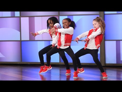 Download Youtube: A Terrific Dancing Trio Performs!
