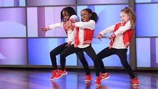 Download A Terrific Dancing Trio Performs!