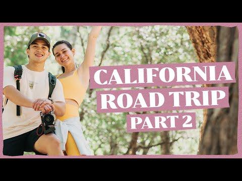 CALIFORNIA ROAD TRIP PART 2 (USA TRAVEL VLOG) | Bea Alonzo