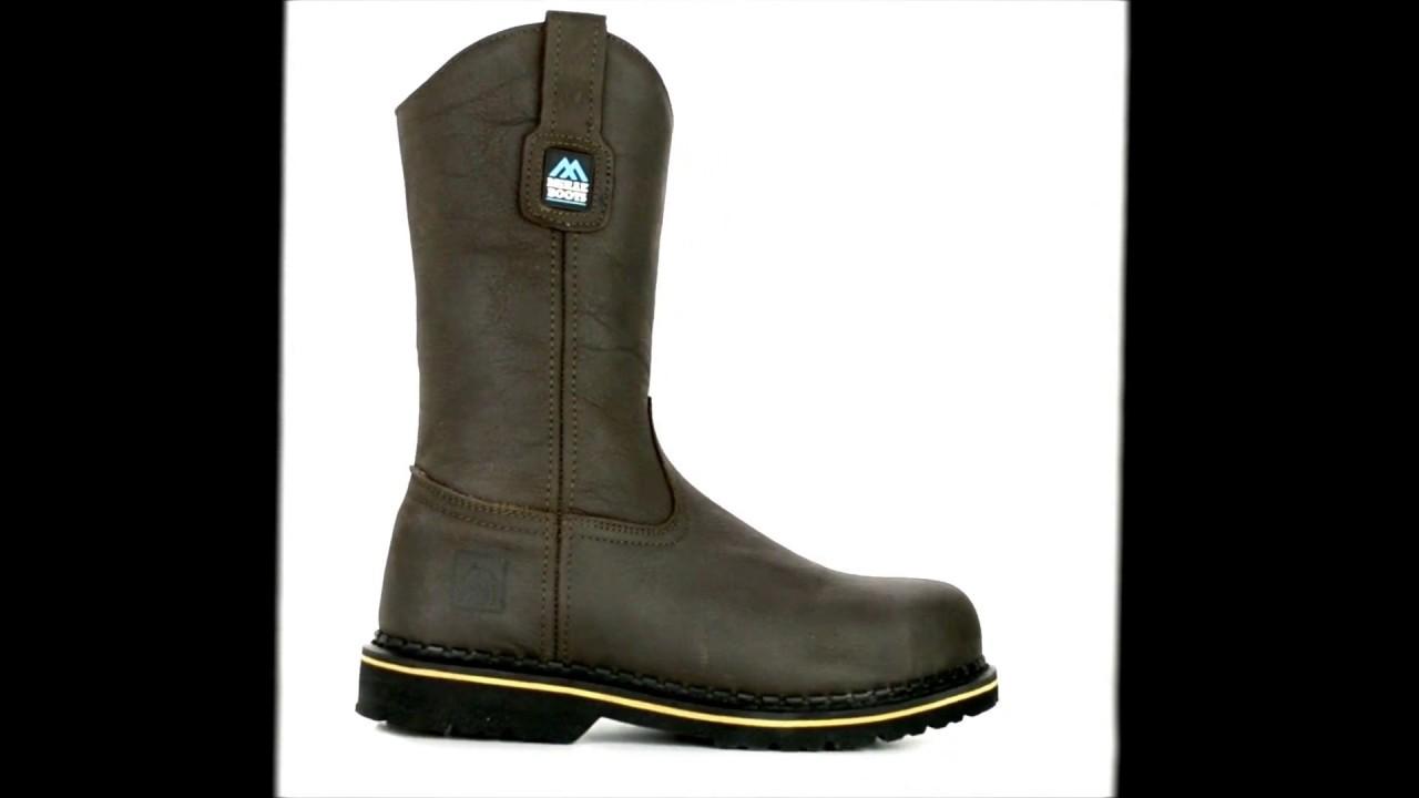 728fdfe16ff Men's McRae Industrial 11 Inch Steel Toe Wellington Boot MR85344 @  Steel-Toe-Shoes.com