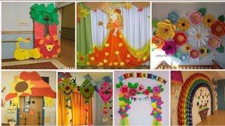 School Decorations Ideas || Creative School Decorations ||
