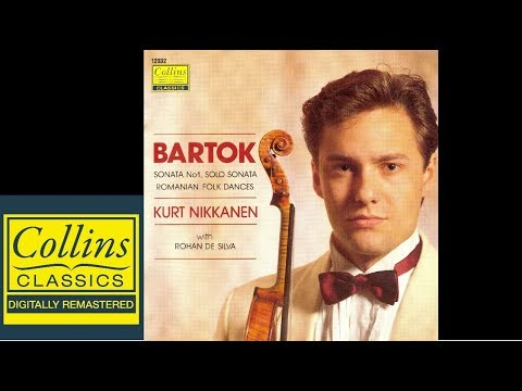 Bartok Sonatas & Romanian Folk Dances