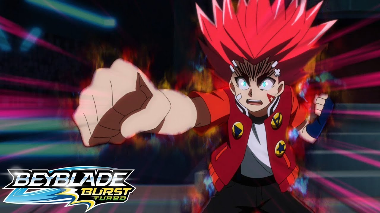 BEYBLADE BURST TURBO Episode 30 : Aiger Goes Wild!