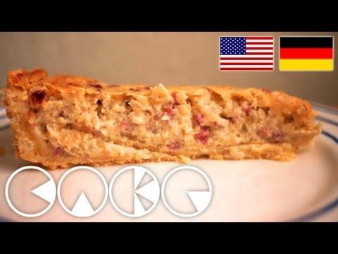 ZWIEBELKUCHEN Rezept --- ONION CAKE recipe