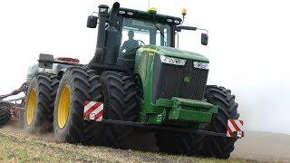John Deere 9560R Going Deep in The Soil Seeding w/ Horsch Focus 6TD | Pure Power | DK Agriculture