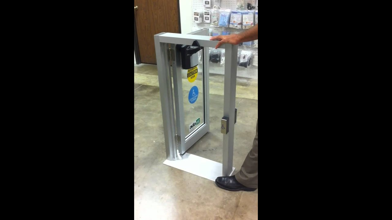 Alarmline ada ez automatic door opener youtube