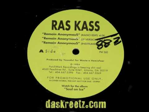 Ras Kass - Remain Anonymous [High Quality][1994]