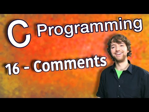 C Programming Tutorial 16 - Comments