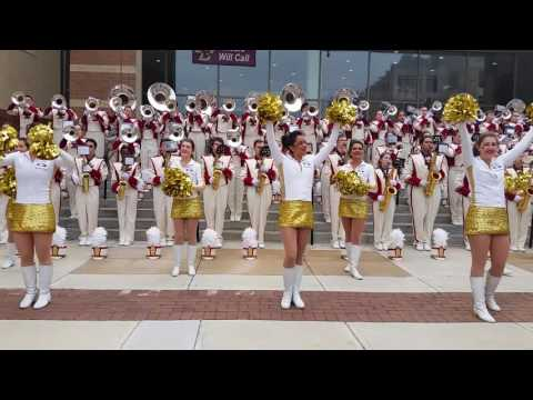 Boston College Marching Band Nov. 2016 Pre Game
