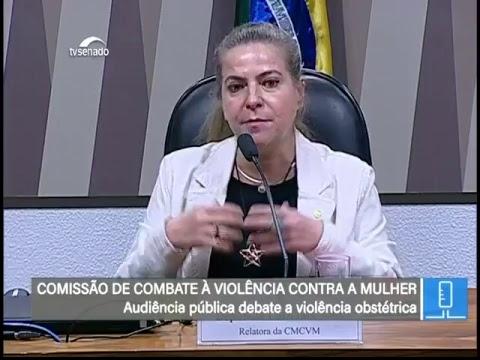 Violência Contra a Mulher - TV Senado ao vivo - CMCVM - 20/06/2018