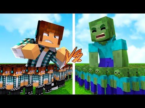 SUPER PROTEÇÃO CONTRA ZUMBIS !! - Minecraft Defesa thumbnail