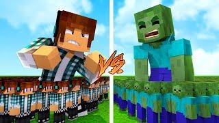 SUPER PROTEÇÃO CONTRA ZUMBIS !! - Minecraft Defesa