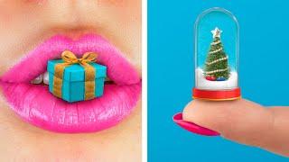 13 حيلة مشغولات مصغرة للكريسماس!