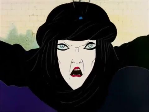 The Magic Flute (1995) Queen of the Night Aria (Animated)