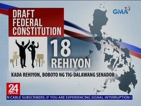 24 Oras: Draft Federal Constitution