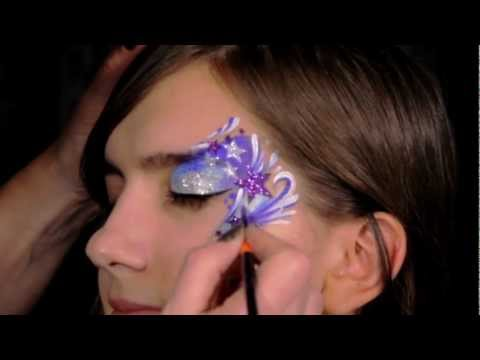 Star Makeup Tutorial - Face Painting with Stencils