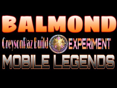 LaughTrip Commentator Ng Mobile Legends Balmond Build Experiment BY. GreysonRaz (FILIPINO)