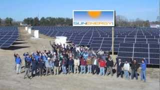 SunEnergy1-Time Lapse Solar Project - Plymouth, NC