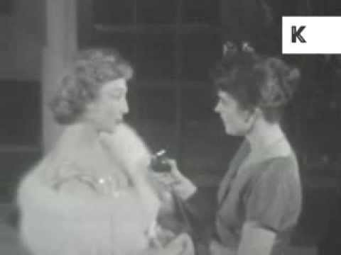 Celebrities Arrive at 1958 Theatre Opening of My Fair Lady, Musical, Unseen Home Movie Footage