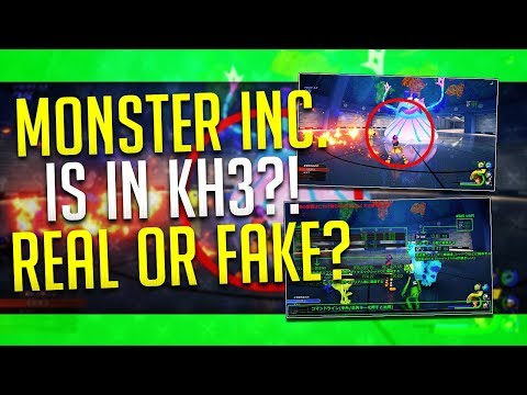 MONSTER INC. WORLD IN KH3?! This Leak is weird... Kingdom Hearts 3 - News/Maybe?