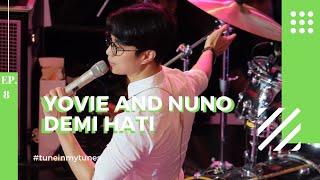 Gambar cover YOVIE AND NUNO Demi Hati Dikta Focus LIVE Trans Studio Mall Cibubur 2019 TuneInMyTunes Ep 8