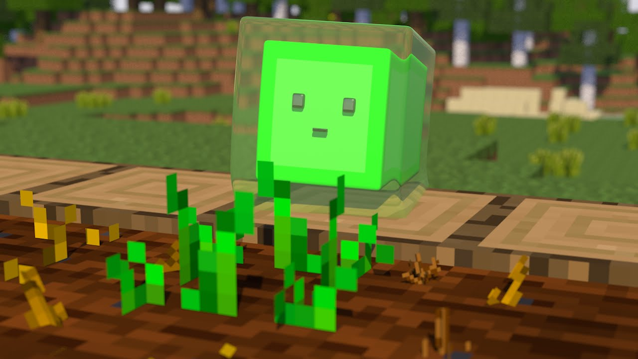 The Little Movies for Little Slime: Let It Grow! [Minecraft Animation]