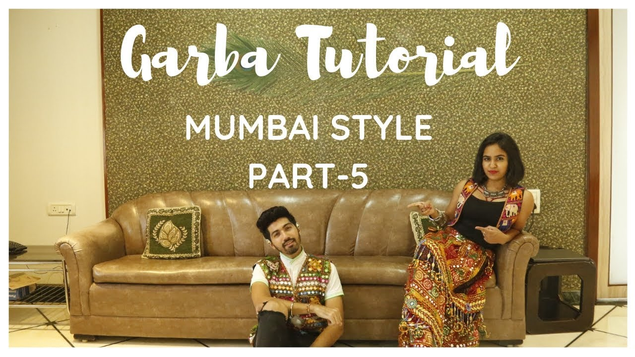 Garba Tutorial Video | Garba Steps Video | Learn Garba | Mumbai Style | Jenish Doshi | Part-5