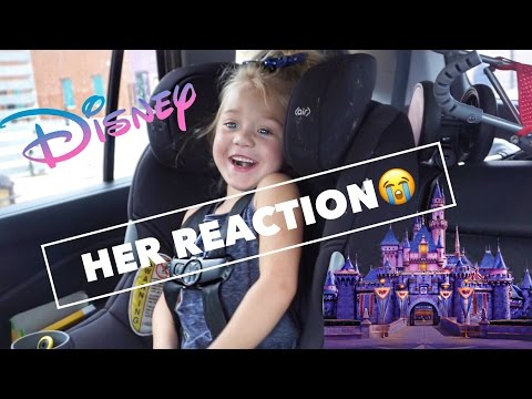 SURPRISING OUR 4 YEAR OLD WITH TRIP TO DISNEYLAND!!!