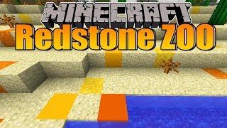 Den Boden mit World Edit generieren lassen! - Minecraft Redstone Zoo #36